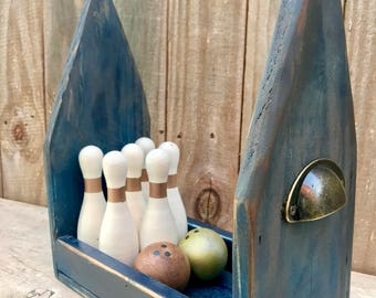 Bowling Set, Table-Top Bowling Game, Outdoor Games