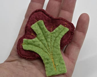 SALE SALE Brooch Wool felted Tree Pin Decorative Wool Felt Brooch felted wool jewellery accessory gifts for women 11944