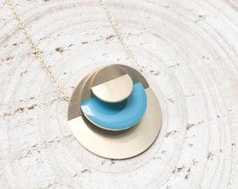 Crop Circle necklace - Crop Circle necklace