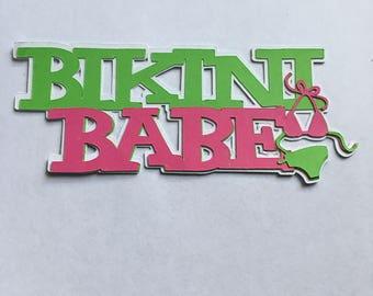 Bikini Babe Die Cut