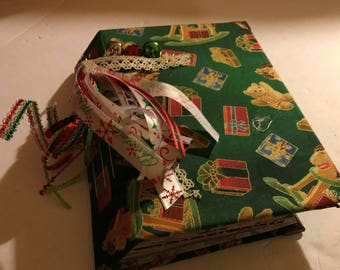 Christmas Junk Journal-Toyland Cover  PRICE REDUCED!