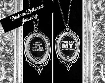 Custom Saying Jewelry
