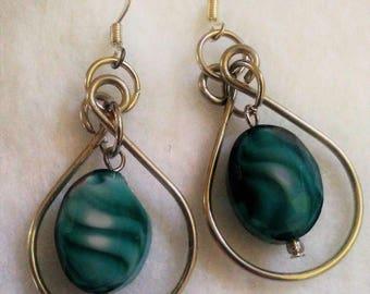 Earring - Blue - 07/11/17 - 2