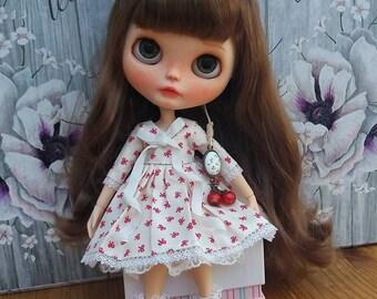 Summer dress for Blythe or similar dolls