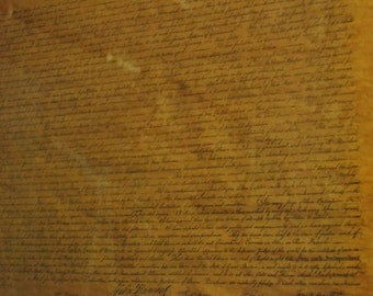 The Declaration of Independence print framed by J.F. Thomas Co.