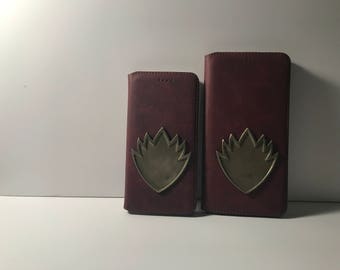 iPhone 6/7 and Plus leather cases inspired by the Ravagers GOTG