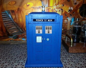 ON SALE NOW Tardis Inspired Double Ring Box