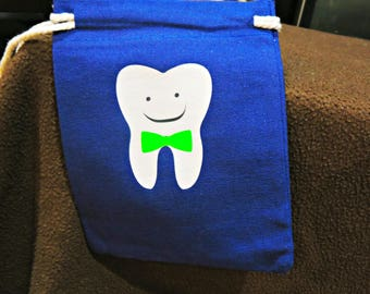 Boy's Bow Tie Tooth Fairy Bag
