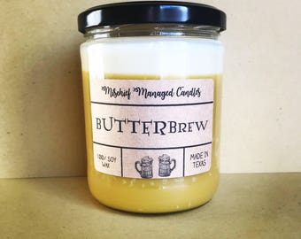 Butterbrew 100% Soy Wax Candle
