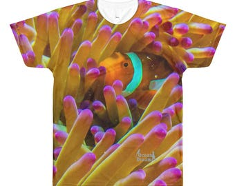 Hiding Nemo Sublimation men's crewneck t-shirt