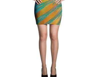 Parrotfish Fin Mini Skirt