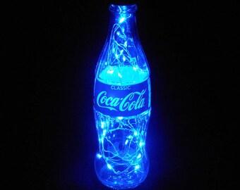 Coca Cola Bottle Light-blue