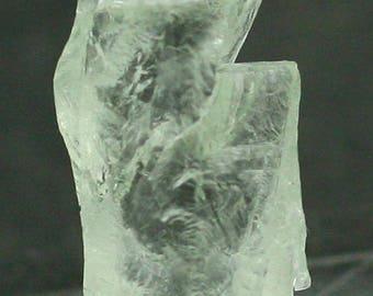 Etched green Hiddenite crystal, Brazil- Mineral Specimen for Sale