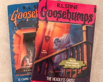 Awesome Goosebumps Books From The 90s