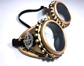 Steampunk Goggles Burning Man Mad Max