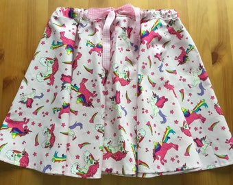 Girls full circle skirt.