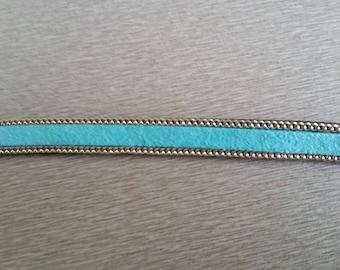 25 cm 10mm sky blue cord