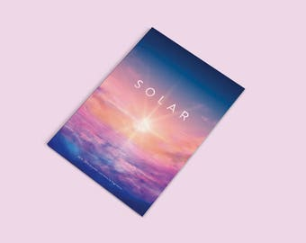 Solar Artbook // Selected Illustrations by Sugarmints Vol 2, Concept Art Book, Illustrated Art Book, Scenery Art Book