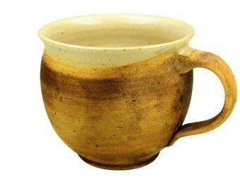 Cup bulbous earthy