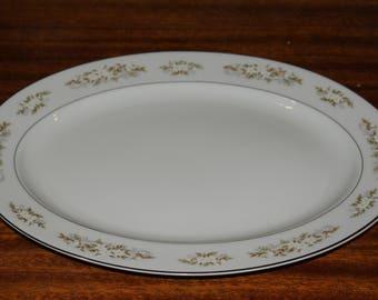 International 326 Springtime 14 inch oval platter