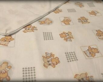 duvet cover for baby or child my little bears