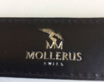 Maison Mollerus canvas and leather belt