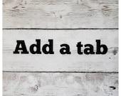Add a Tab