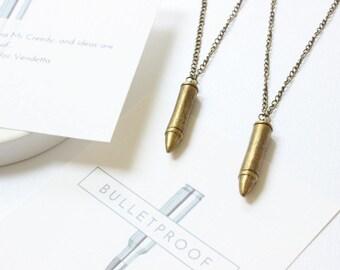 Boyfriend Gift, Bullet Jewelry, Bullet Necklace, Gifts for Boyfriend, V for Vendetta, Gifts for Him, Men Necklace, Gift for Boyfriend,