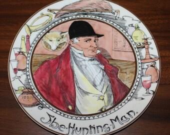 Royal Doulton Series Ware The Hunting Man Plate TC 1049