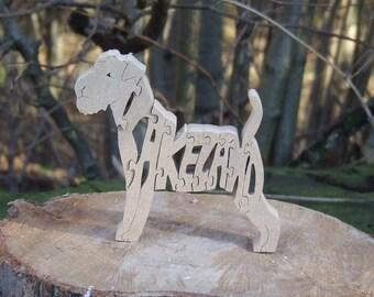 Lakeland Terrier,  Lakeland Terrier gift, gift for Lakeland Terrier lover, dog lover gift, dog memorial , wooden dog, wooden ornament