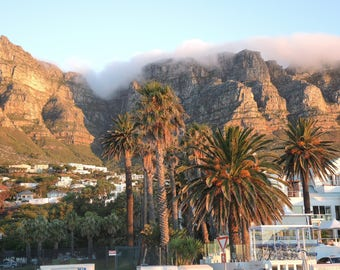 Cape town, South Africa. Digital art print,Wall Art,Digital download,Home decor,downloadable prints,photography, South Africa 2017.Camps Bay