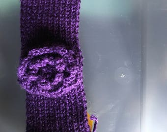 Purple Winter Headband