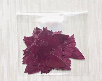 Wine coloured paper butterflies