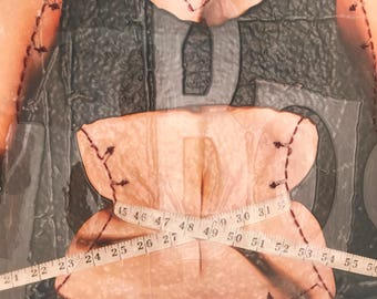 My Body | Large Art | Body Image | Positive Body Image | Negative Body Image | Metal Frame | Welded Art | Wall Art | Mixed Media | Fine Art