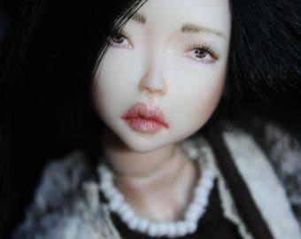 "Porcelain BJD Ball jointed doll ""Meili"" by Olesya Kudryashova."