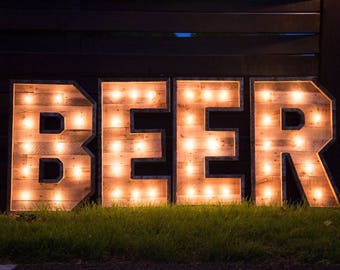 "30"" Lighted Marquee Letters 