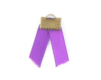 x2m (46 (A) 5mm purple satin ribbon