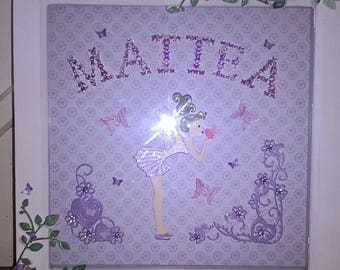 Personalised Fairy Frame Picture