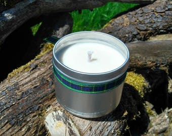 Baby Powder Scented Natural Soy Wax Handmade in Scotland Tin Candle SALE