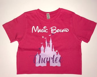 Magic Bound Tee, Disney Bound, Cinderella's Castle Tee