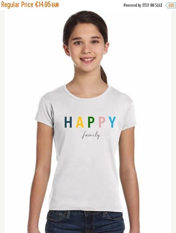 REBAJADO Girl t-shirt HAPPY FAMILY