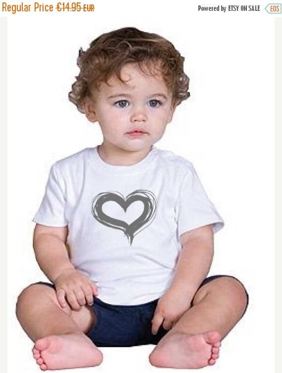 REBAJADO Girl/Boy/Baby t-shirt HEART in various colors