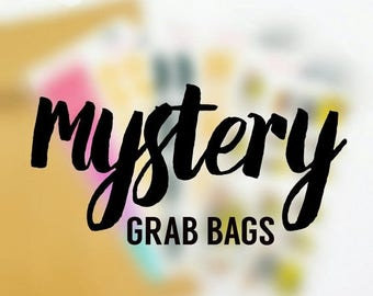 15% OFF MYSTERY Grab Bag Stickers (5 sheets) Perfect for Erin Condren Life Planner, Filofax, Plum Paper & other planner or scrapbooking