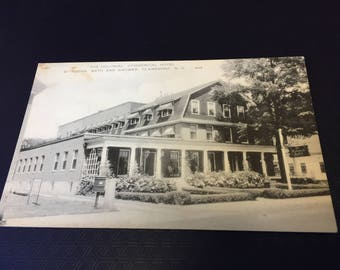 The Colonial Commercial Hotel 40 Room Bath and Shower Clairemon N.H. 645