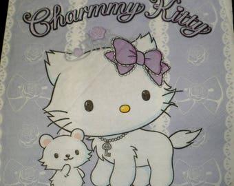 Pink cat charmy napkin