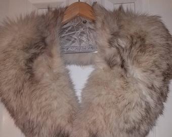 2 Vintage Fur detachable Collars/Wraps