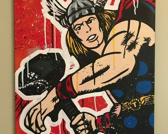 God of Thunder (Thor) - 16x20 in
