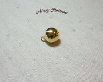 1 Golden 16 mm Xmas Bell