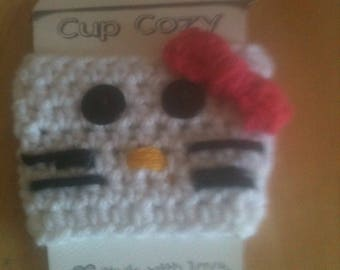 Hello Kitty Inspired Cup Cozy