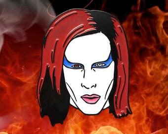 Marilyn Manson Inspired Enamel Pin